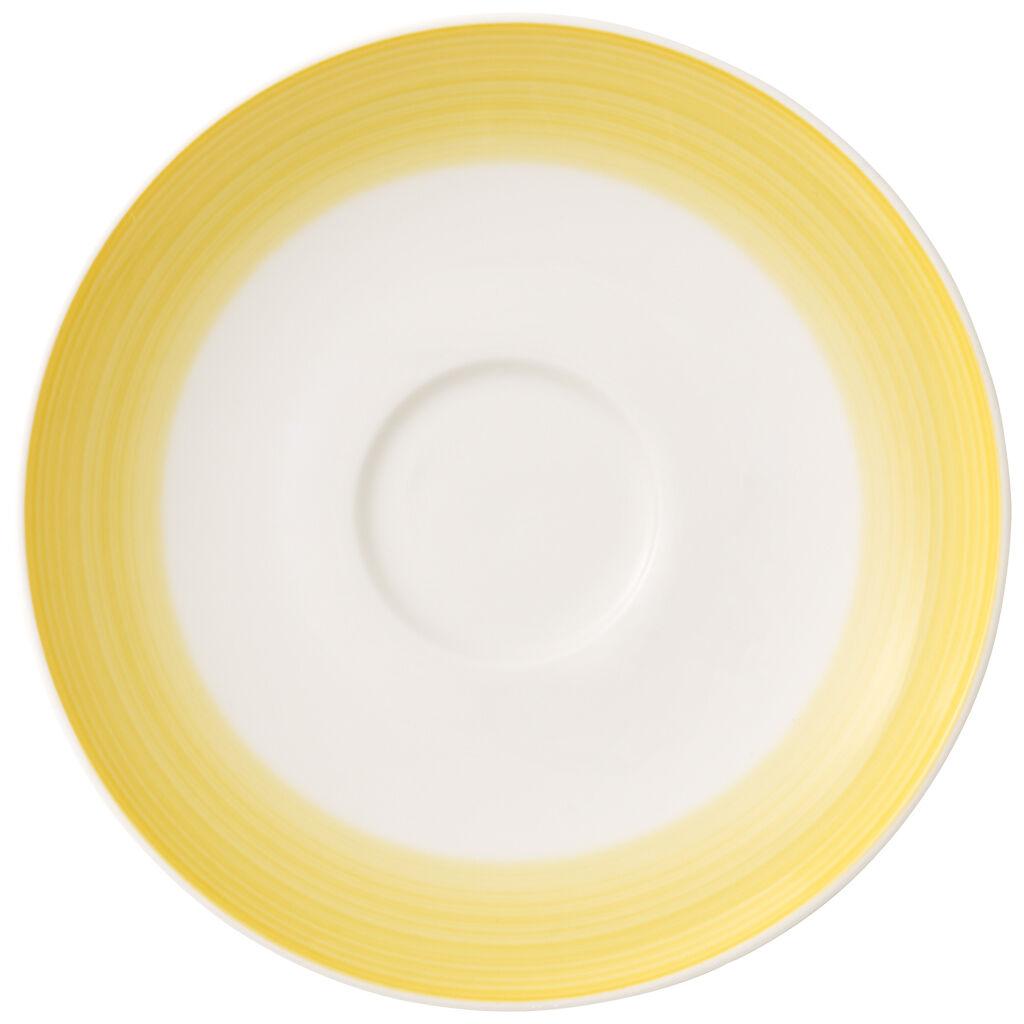 빌레로이 앤 보흐 컬러풀 라이프 커피잔 받침대 Villeroy & Boch Colorful Life Lemon Pie Tea/Coffee Cup Saucer