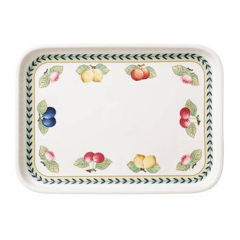 French Garden Baking Rectangular Serving Plate/Lid, Large