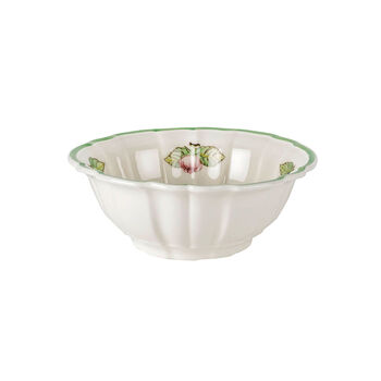 French Garden Fleurence Fluted Rice Bowl