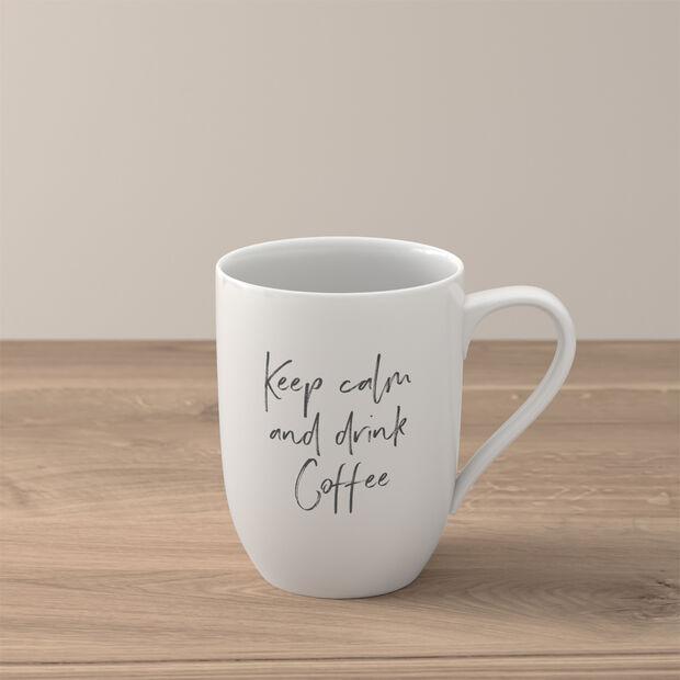 Statement Mug: Keep Calm and Drink Coffee, , large