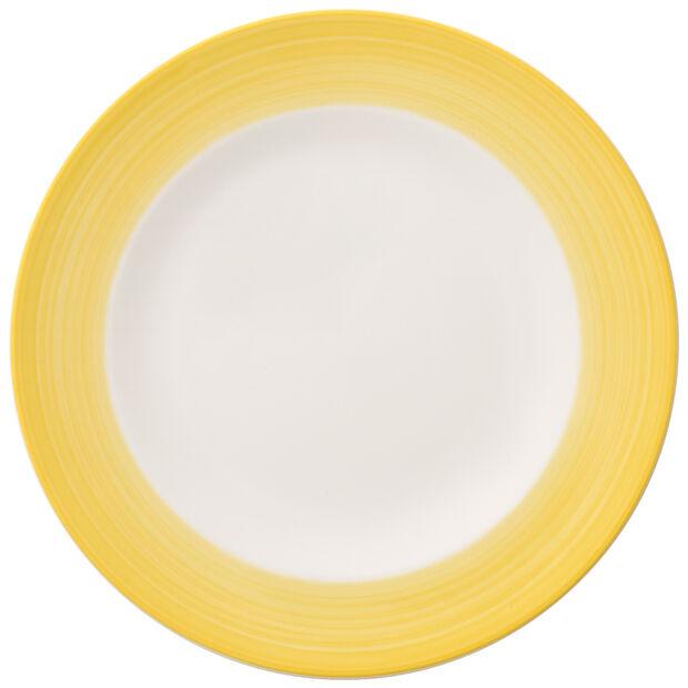 Colorful Life Lemon Pie Salad Plate, , large