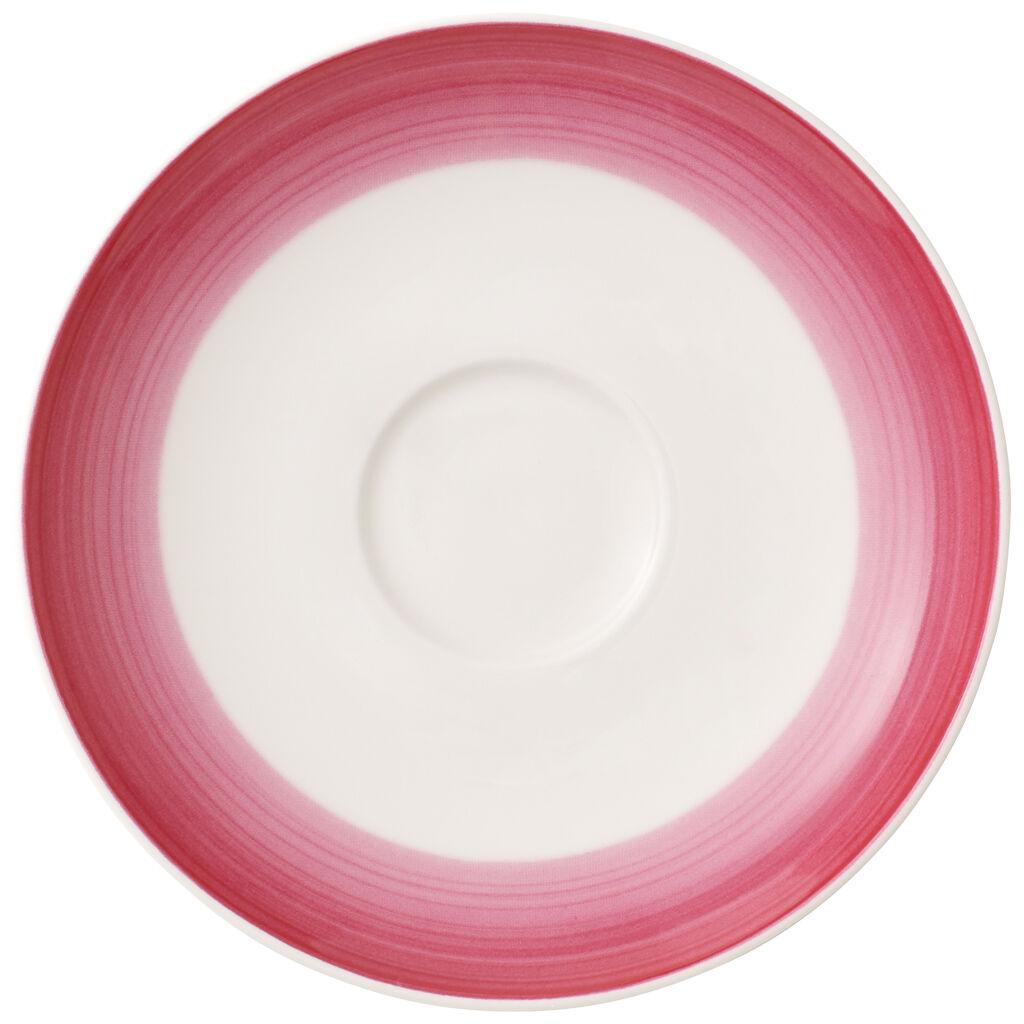 빌레로이 앤 보흐 컬러풀 라이프 커피잔 받침대 Villeroy & Boch Colorful Life Berry Fantasy Coffee Cup Saucer 5.5 in