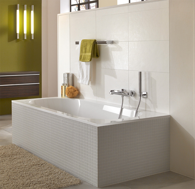 Small Efficient Bathroom Design small, efficiently installed bathrooms - villeroy & boch
