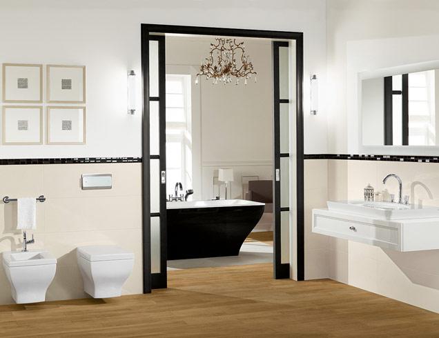 En suite bathroom   La Belle. En Suite Bathroom Designs   Ideas   Villeroy   Boch