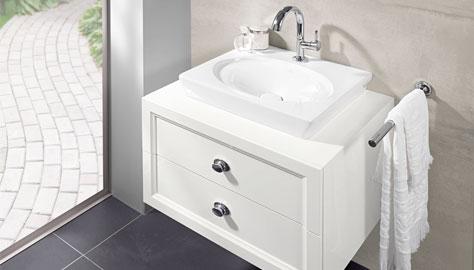 la belle collection by villeroy boch romantic bathroom design. Black Bedroom Furniture Sets. Home Design Ideas