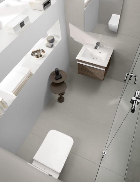 . Venticello Collection by Villeroy   Boch   Linear bathroom design