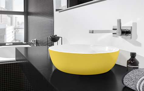 bring your bathroom to life with colourful effects