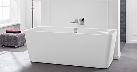 Extremely Bathtubs from Villeroy & Boch - in a variety of shapes SJ07