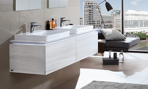 vanity washbasins and vanity units - Villeroy And Boch Bathroom Cabinets