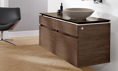 vanity washbasins and vanity units - Villeroy And Boch Bathroom Furniture