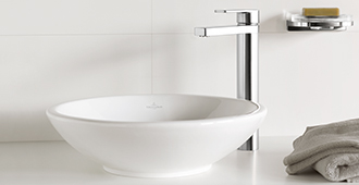 these modern eye catchers unite contemporary design and perfect functionality while giving your bathroom an individual look - Villeroy Boch Basin