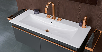 perfectly integrated into the matching cabinet a vanity sink adds elegance and uniformity to your bathroom - Villeroy Boch Basin
