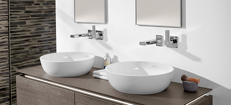 bathroom sinks vanities villeroy boch. Black Bedroom Furniture Sets. Home Design Ideas