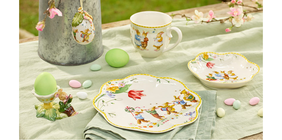 Easter gifts from villeroy boch on the bottom showing the vintage of the easter collection get your limited edition decorations today for a gift or to add to your own collection negle Gallery