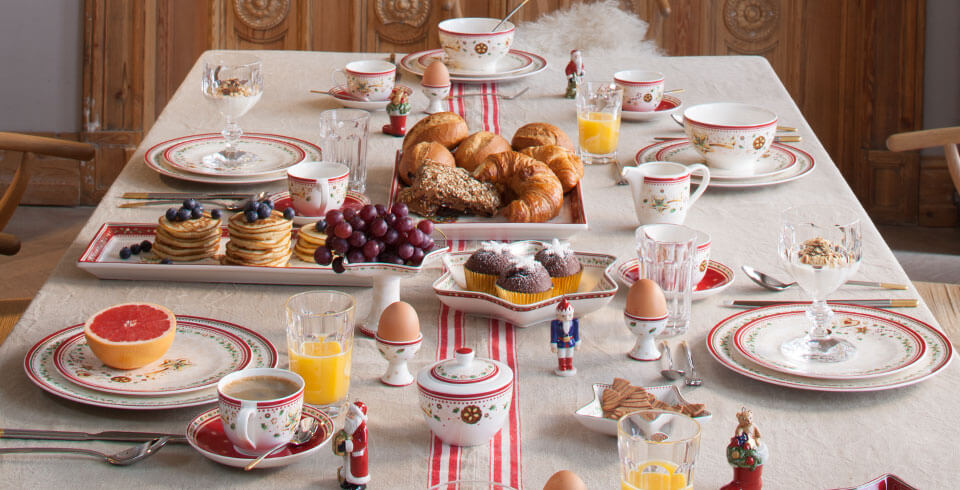 traditional for the breakfast table