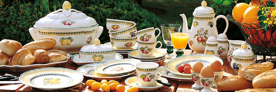 French Garden fresh and colorful \u2013 classic country style for everyday use. This ever-popular dinnerware has legions of fans who live for the happy décor of ... & French Garden