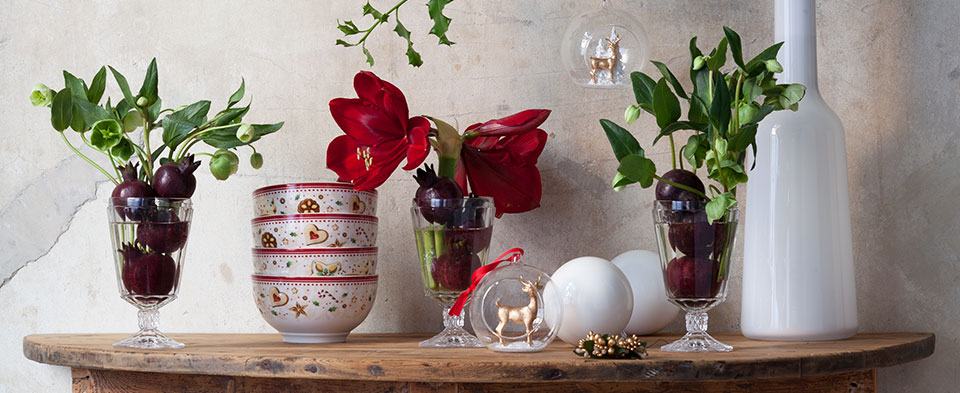 Christmastime decorations from Villeroy & Boch