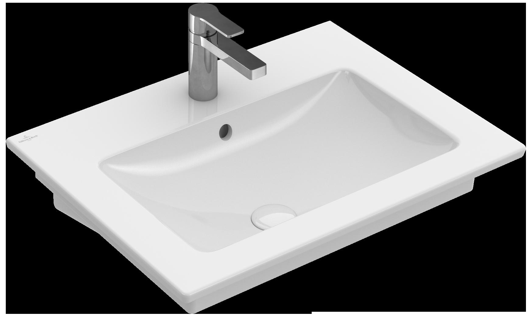 venticello washbasin 24 angular 4124u1 villeroy boch. Black Bedroom Furniture Sets. Home Design Ideas