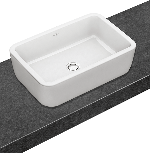 architectura surface mounted washbasin rectangular