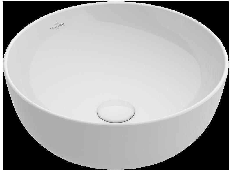 artis surface mounted washbasin round 4179u4 villeroy boch. Black Bedroom Furniture Sets. Home Design Ideas