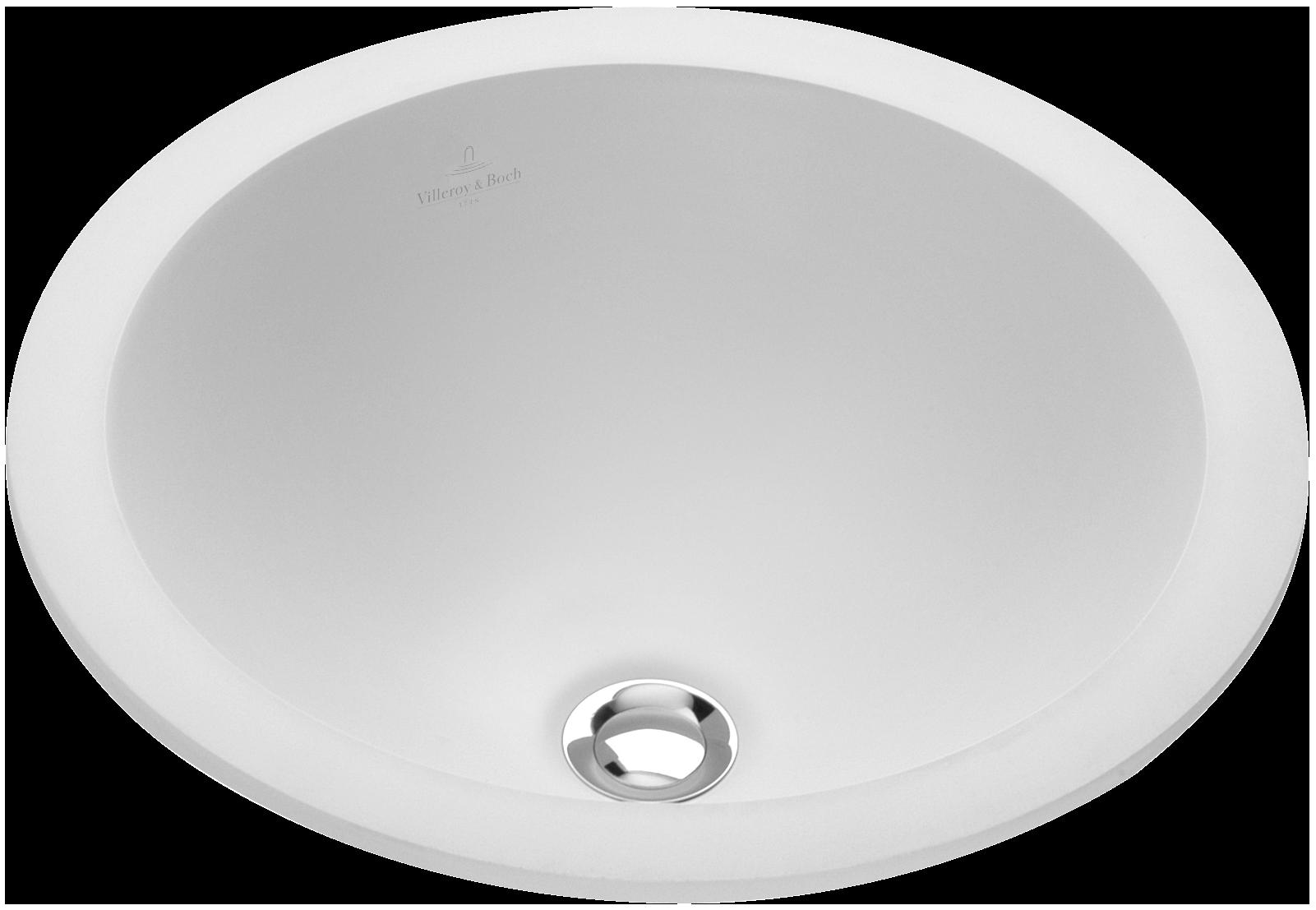 loop friends drop in washbasin round round 6140u0 villeroy boch. Black Bedroom Furniture Sets. Home Design Ideas