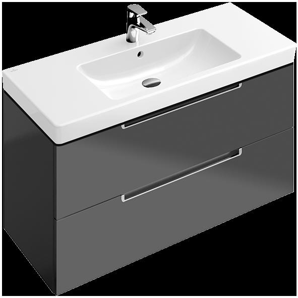 Subway vanity unit a697u0 villeroy boch for Bathroom planner villeroy