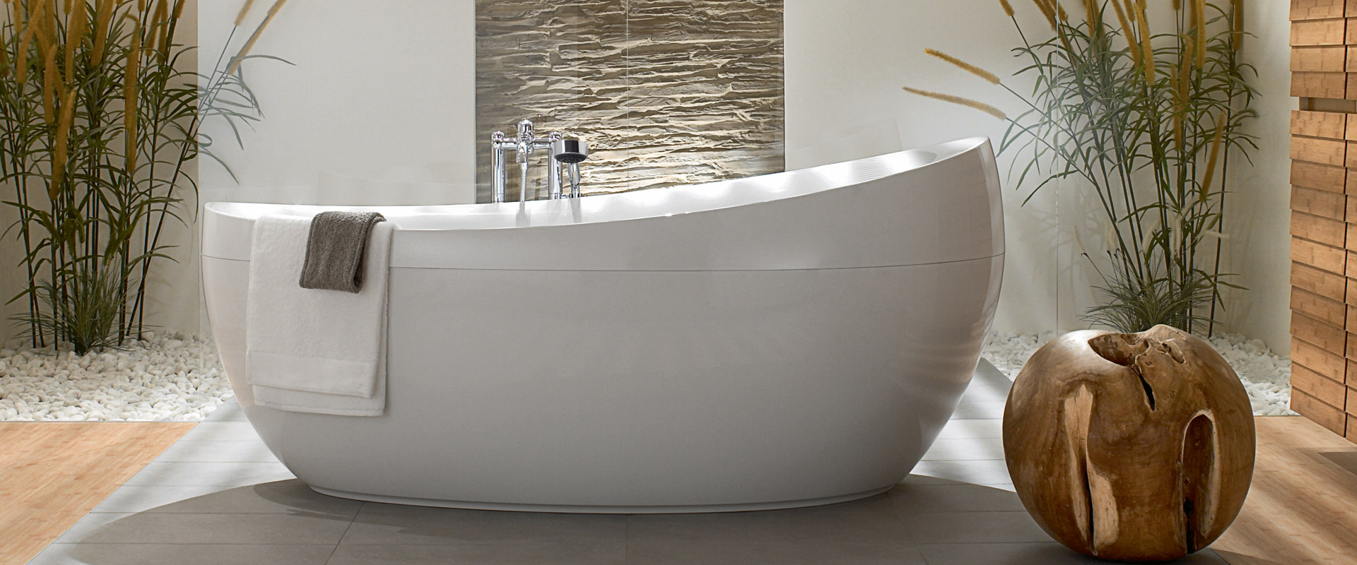 Aveo Collection by Villeroy & Boch » relaxing bathroom design