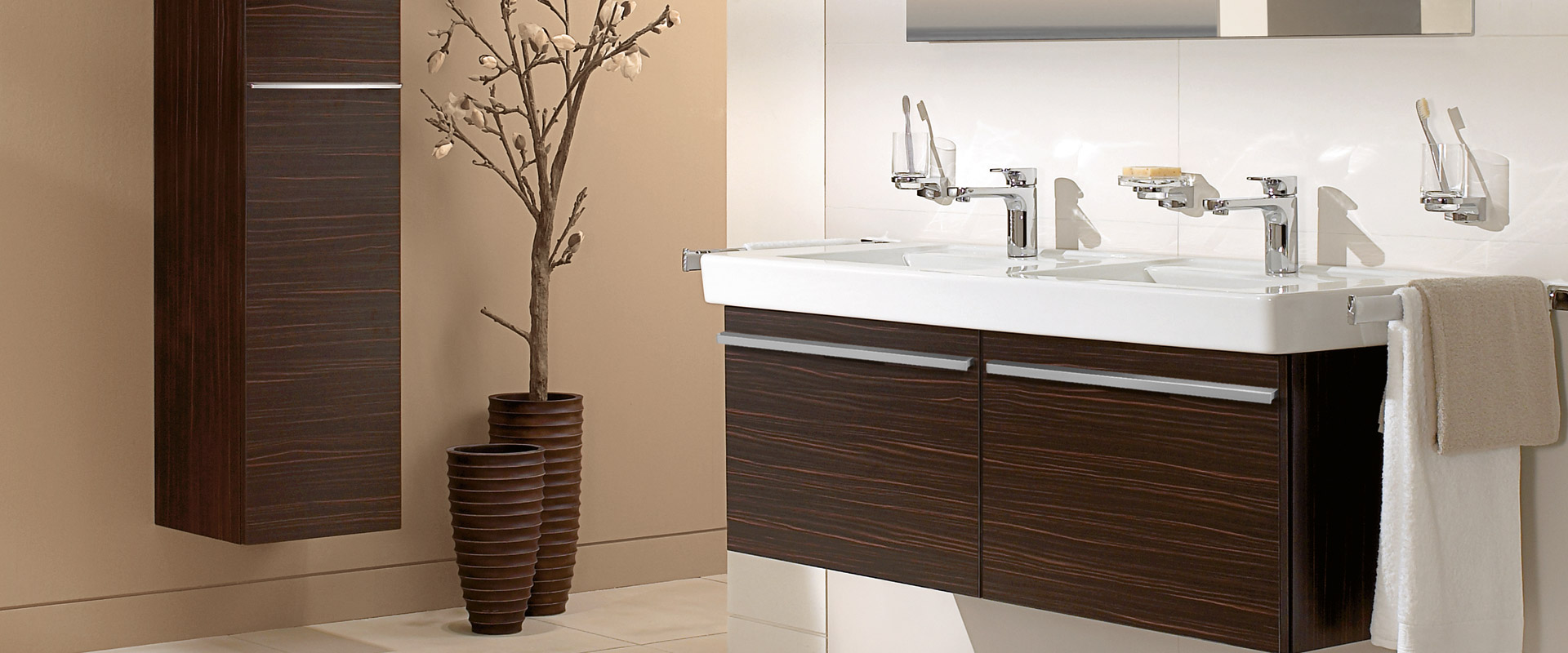 Villeroy and boch bathroom cabinets - Central Line Frn