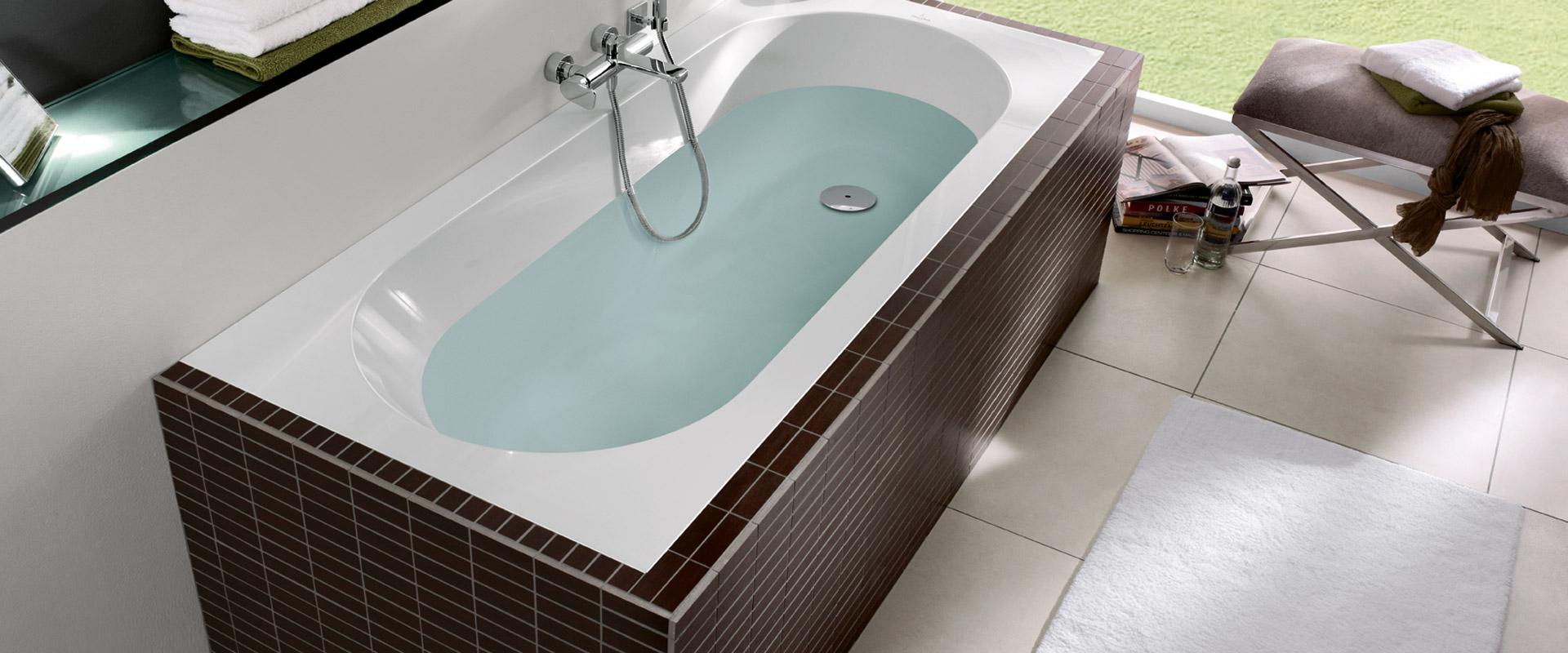 Oberon collection by villeroy boch rectangular bathtubs for Bathroom planner villeroy